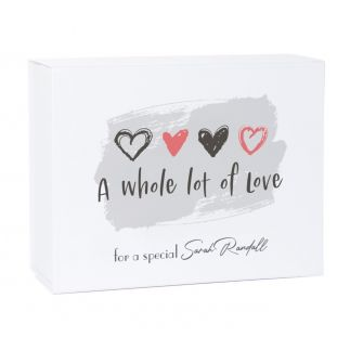 Personalised A Whole Lot of Love Gift Box