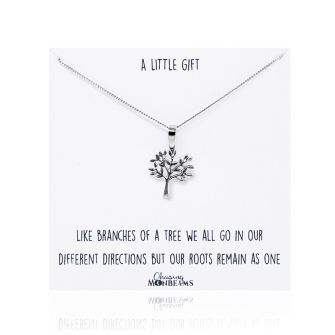 A Little Gift Tree of Life Sterling Silver Necklace