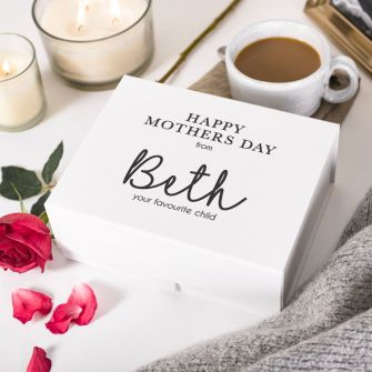 Personalised Happy Mother's Day from Your Favourite Child Box