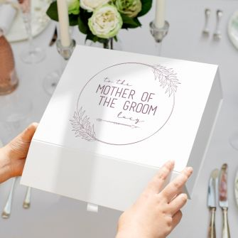 Personalised Mother of the Groom Wedding Gift Box | Lifestyle