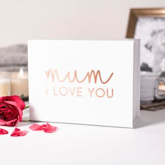 Mum I Love You Vinyl Mother's Day Gift Box