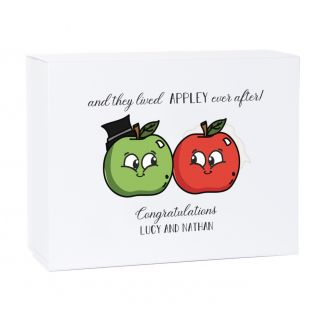 Appley Ever After Deep Magnetic Wedding Gift Box