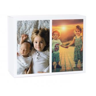 Dual Photo Keepsake Gift Box