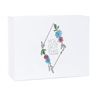You Got This Support White Magnetic Gift Box