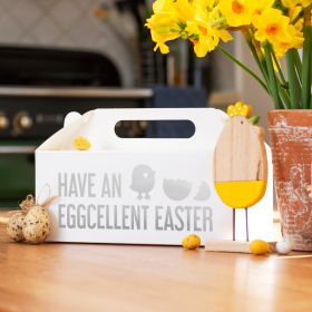 Have an Eggcellent Easter White Gable Gift Box