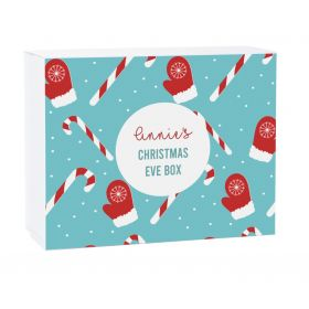 Candy Cane Personalised Christmas Gift Box
