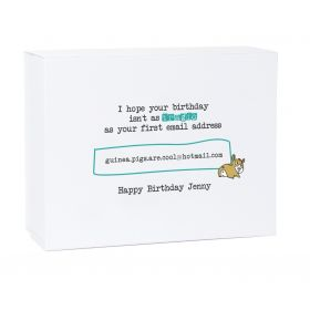 First Email Address Birthday Gift Box