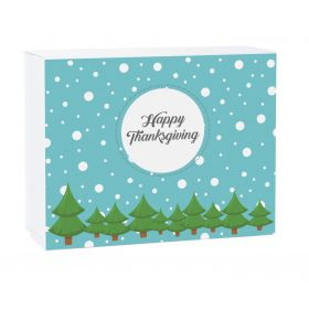 Winter Snow Personalised Christmas Gift Box