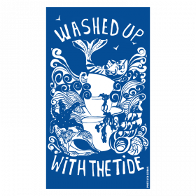 Washed up with the Tide Tea Towel
